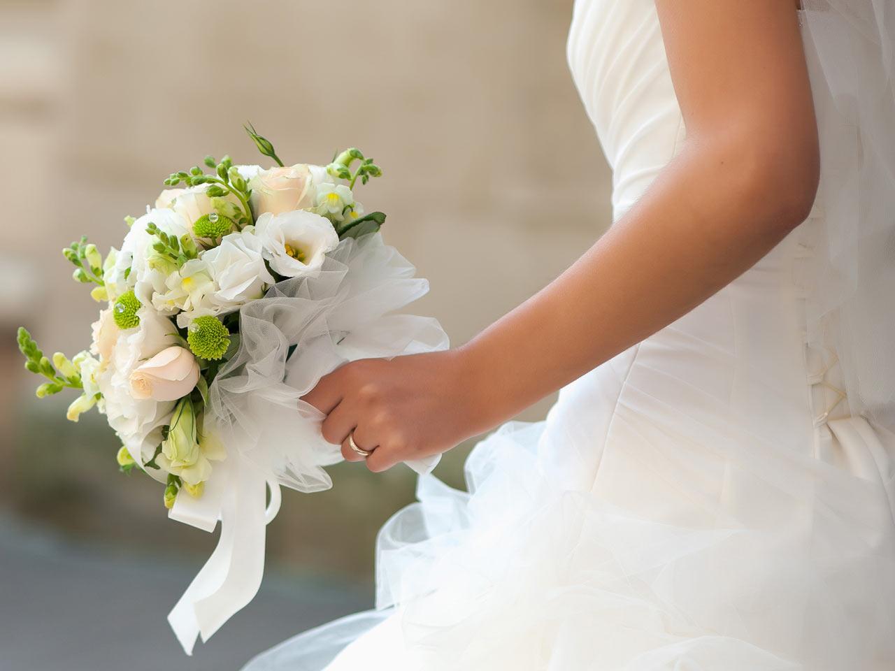 Slim bruin voor bruiloft